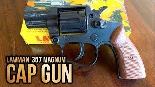 UNBOXING Revolver RAMBO Lawman .357 Magnum - Toy Cap Gun