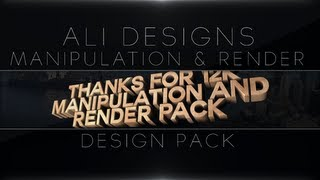 Manipulation & Render Pack! | Thanks For 12k! Thumbnail