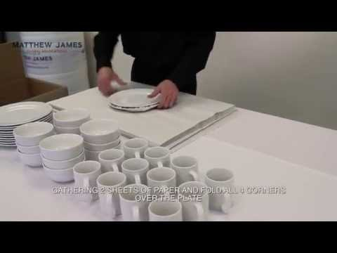 How To Pack China Ware When Moving House - Matthew James Removals