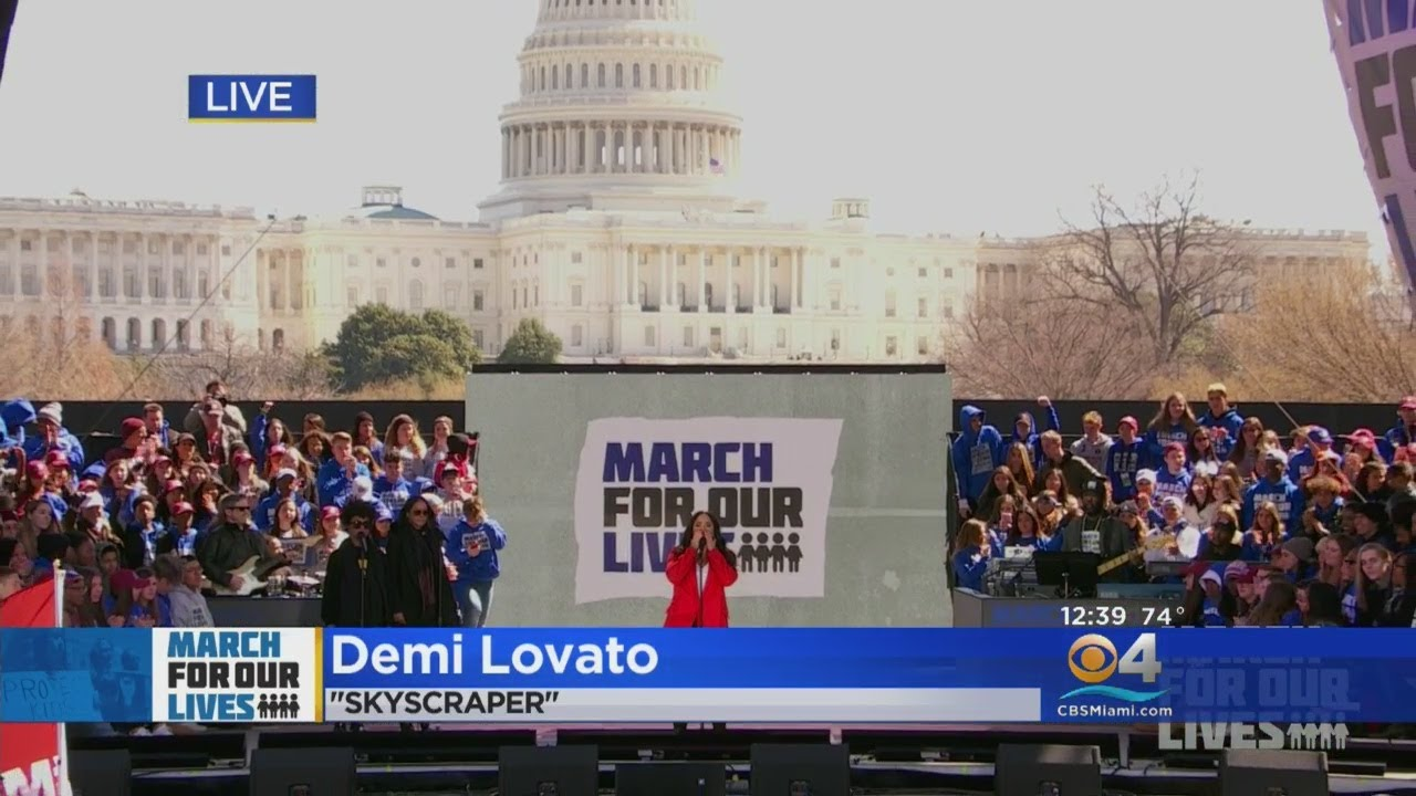 Demi Lovato Performs At March For Our Lives In Washington, D.C.