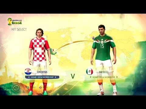 Croatia v Mexico: World Cup simulator