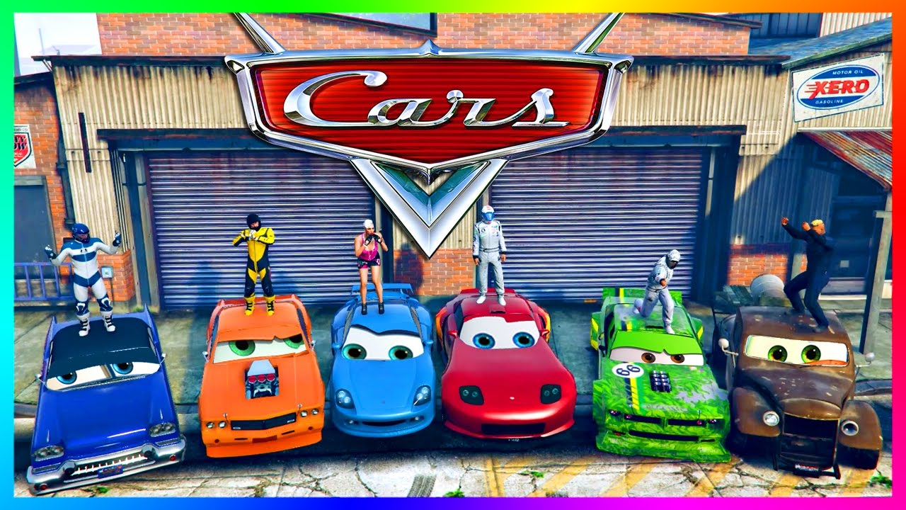 gta online pixar cars movie special lightning mcqueen racecar cars 3 movie vehicles more youtube