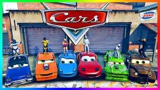 GTA ONLINE 'PIXAR: CARS MOVIE' SPECIAL - LIGHTNING MCQUEEN RACECAR, CARS 3 MOVIE VEHICLES & MORE!
