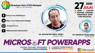 Microsoft Online Training: Microsoft PowerApps