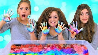 Mixing 150 Pigments into Giant Clear Slime! New Years Slime 2019!!