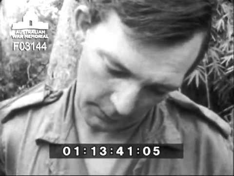 Australian Diggers In Vietnam War - 1968