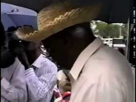 Guyana Politics: PNC 1998 Protest March, Desmond Hoyte