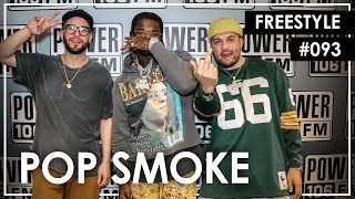 """Pop Smoke Freestyles Over 50 Cent's """"Not Like Me"""" - L.A. Leakers Freestlye #093"""
