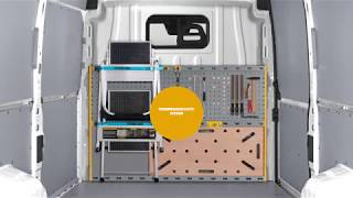 Trennwandschutz-System Store Van