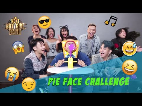 #10   PIE FACE CHALLENGE   The Next Boy/Girl Band GlobalTV