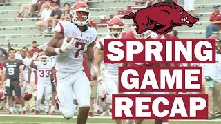 Arkansas Razorbacks 2019 Spring Game Recap