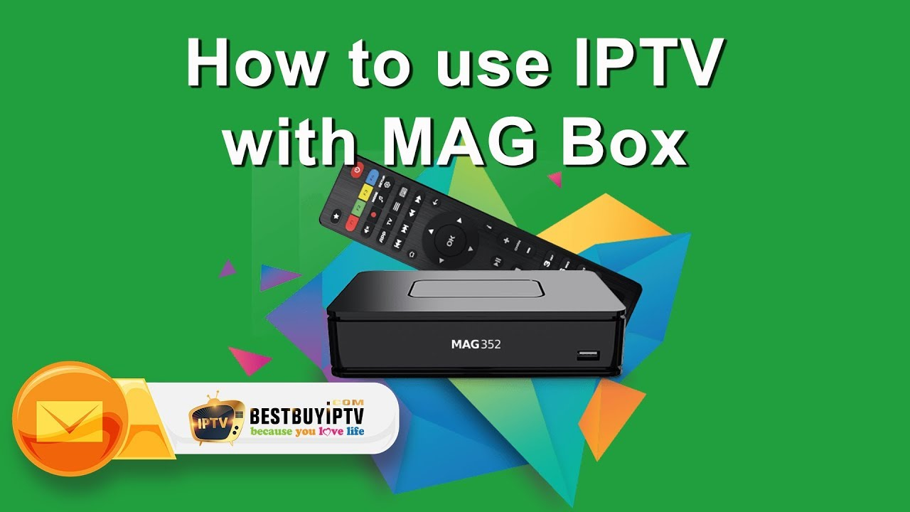 How to setup IPTV with MAG Box [Bestbuyiptv]