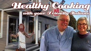 Matt Jones of Eleven Lakes Winery .::. Healthy Cooking w your Friendly Italians #48