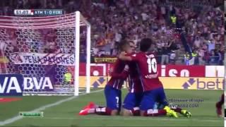 Атлетико- Барселона  1 2