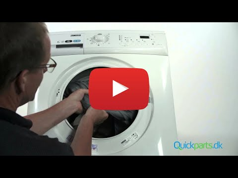 how to replace door seal on bosch washing machine