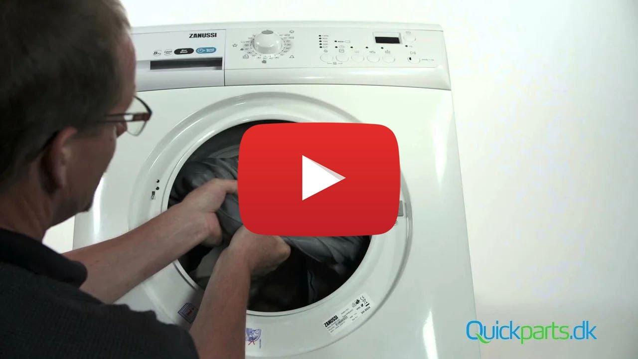 vaskemaskine tromle sidder fast