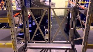 Мезонинные двухэтажные стеллажи для склада автозапчастей(На видео представлен мезонин (двухэтажный стеллаж), предназначенный для хранения небольших автозапчастей..., 2014-10-21T10:13:17.000Z)