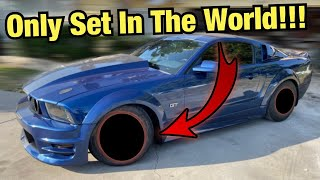 The Mustang Gets The Most Expensive Wheels I've Ever Bought!!! (First Set In The World)