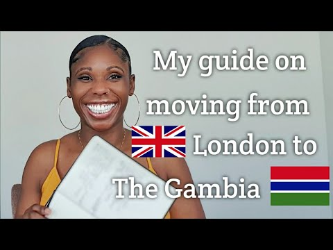 Step by step guide on moving to The Gambia- including detailed explanation of shipping.