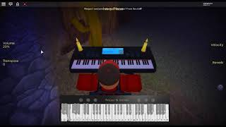 Wake me up when September Ends - American Idiot by: Green Day on a ROBLOX piano. [Überarbeitet]