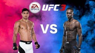 UFC 3 - Israel Adesanya VS Paulo Costa