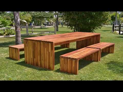 Wooden Outdoor Dining Table Plans