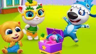 My Talking Tom Friends NEW UPDATE SUMMER - Episode 1 (iOS,Android) Gameplay Walkthrough