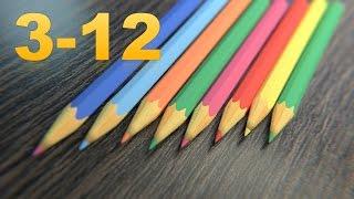 [Eng sub] Уроки по Blender. Урок 3-12. Моделинг карандаша. Modeling a pencil.