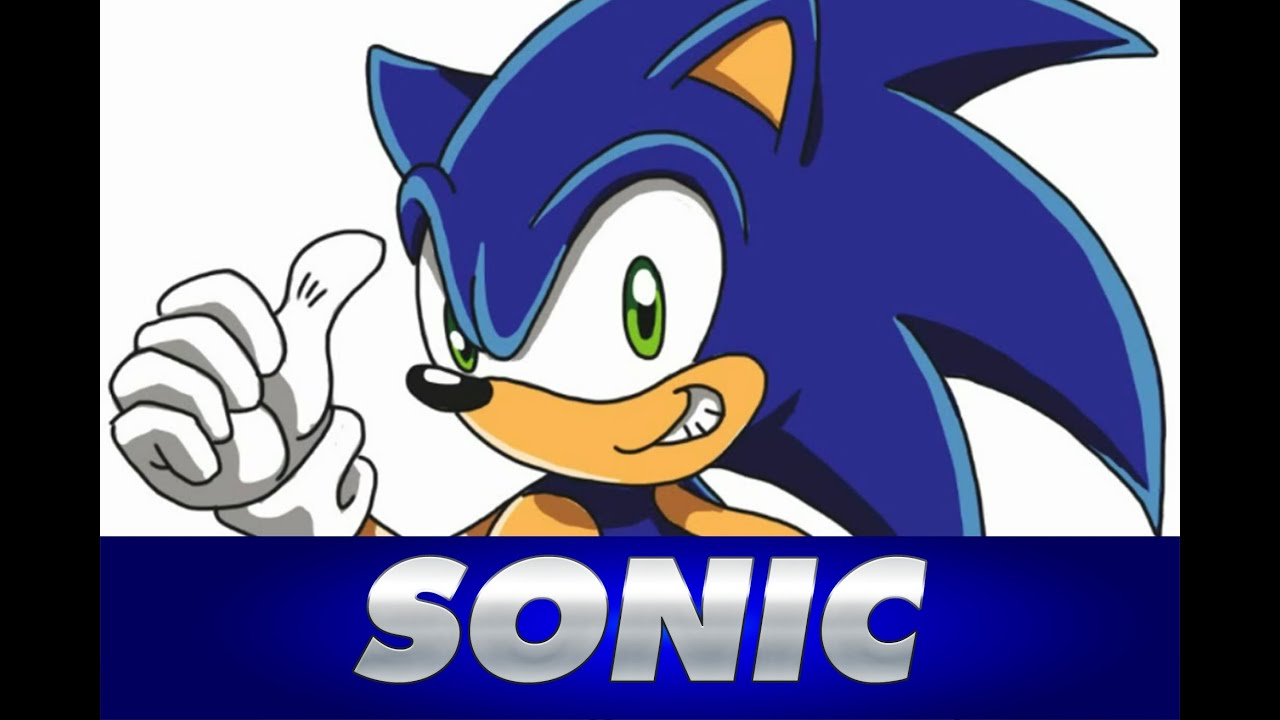Cmo dibujar a SONIC  How to draw SONIC  YouTube
