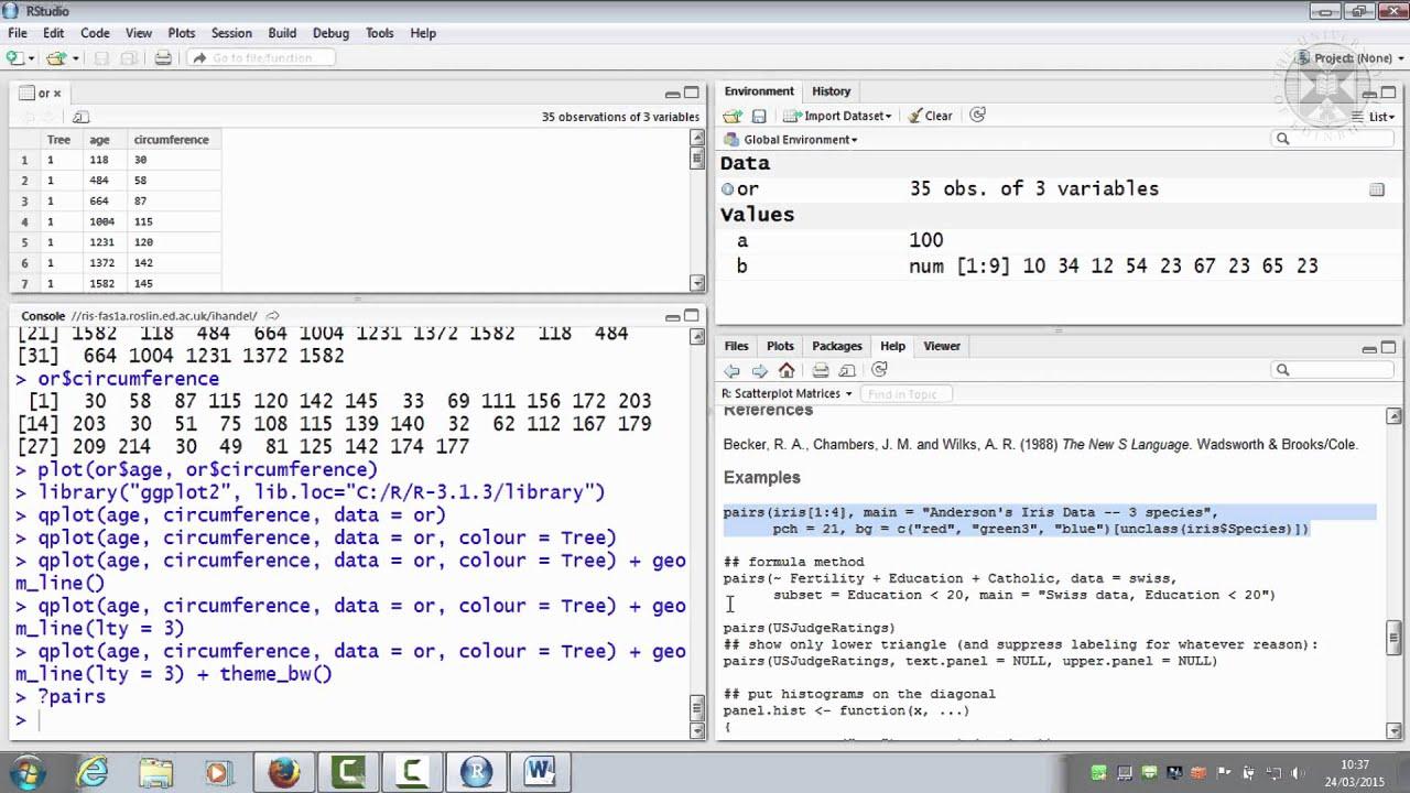 7  Demo data - Anderson's Iris Data