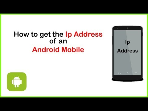 How To Get The Ip Address Of An Android Mobile | Android Studio