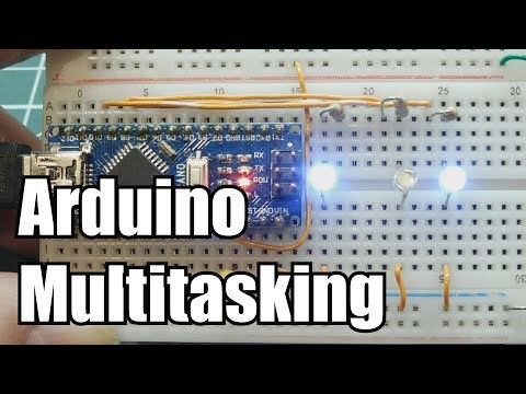 Multitasking On A Microcontroller / Arduino