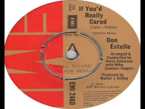 Don Estelle   If You'd Really Cared 1976