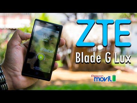ZTE Blade G Lux - Análisis en Español HD