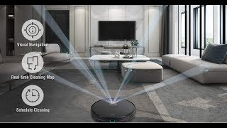 Robotic Vacuum Trifo M6 with Mapping using phone App Setup