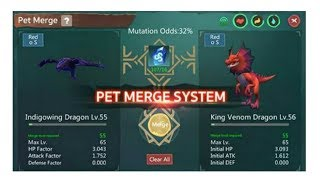 Utopia Origin:PET MERGE SYSTEM