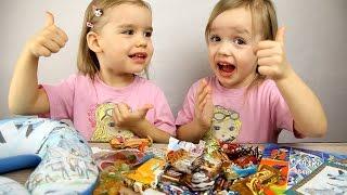 ПОДАРКИ на Новый год от подписчиков с Севера!  Видео для детей.(Оригинальные подарки на Новый год от подписчиков с Севера! Видео для детей. Двойняшки открывают подарок..., 2016-01-13T08:11:25.000Z)