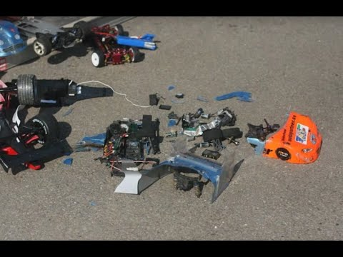 best rc car crash history ever fatal165 kmh 100 mph lipo brushless crash accident asso tc4. Black Bedroom Furniture Sets. Home Design Ideas