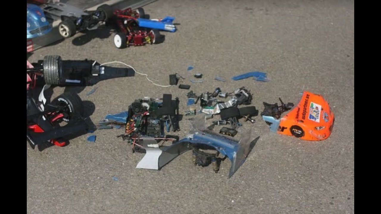 best rc car crash history ever fatal165 kmh 100 mph lipo. Black Bedroom Furniture Sets. Home Design Ideas