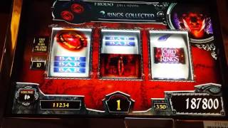 Huge Handpay! Lord Of The Rings slot machine(Max Bet! Early in the morning 6am. Decide to head downstairs and grab a cup of coffee and this is what happened! I had many bonuses on this machine during ..., 2016-01-23T15:51:25.000Z)