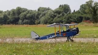 Gipsy Moth 1929 (rc seagull) moteur OS FS 95V
