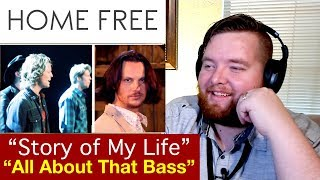 "Home Free | ""Story of My Life"" and ""All About That Bass"" 