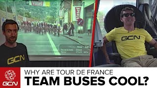Coolest Things About Cycling Team Buses | Tour de France 2017