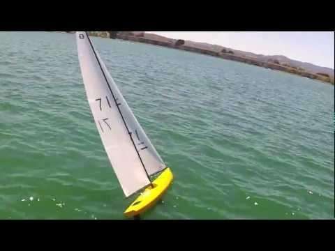 V8 IOM Sailing Foster City Circles 9-6-2012 m4v