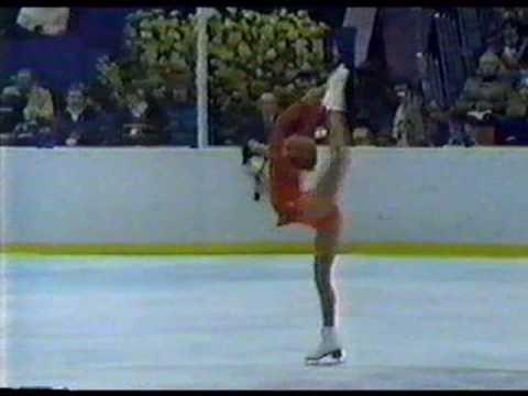 Denise Biellmann (SUI)  - 1980 Lake Placid, Figure Skating, Ladies' Long Program