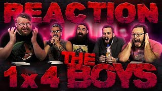 "The Boys 1x4 REACTION!!  ""The Female of the Species"""
