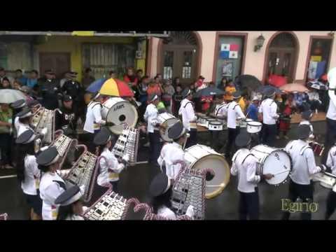 BANDA DE MUSICA DEL INSTITUTO AMERICA. BOQUETE, 25 DE NOVIEMBRE DEL 2012.