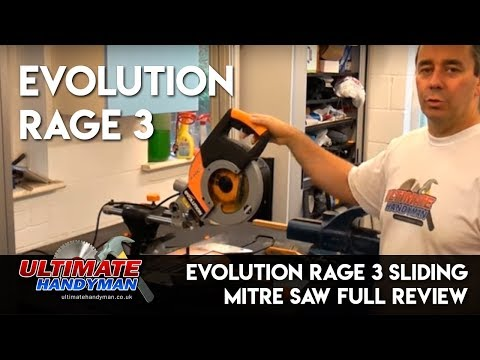 Evolution rage 3 sliding mitre saw review