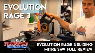 Evolution Rage 3 Sliding Mitre Saw Review