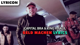 CAPITAL - GELD MACHEN LYRICS (feat. King Khalil)